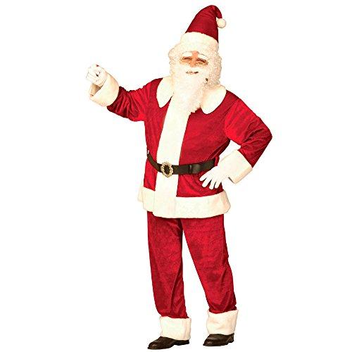 Widmann - Erwachsenenkostüm Luxus Weihnachtsmann aus -