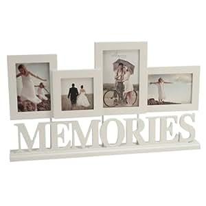 amore mehrfach bilderrahmen memories cremefarben. Black Bedroom Furniture Sets. Home Design Ideas