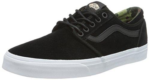 Vans Cordova, Unisex-Erwachsene Sneaker, Schwarz ((VINTAGE Camo) Black/Suede), 44.5 EU (10 UK) - Cordova-leder