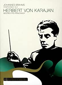 Herbert Von Karajan: Brahms - Symphonies Nos. 1 And 2 [DVD] [2008]