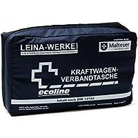 Leina Werke 11033 KFZ-Verbandtasche Compact Ecoline ohne Klett, Blau/Weiß preisvergleich bei billige-tabletten.eu