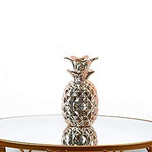 Homevibes Piña De Ceramica Decorativa