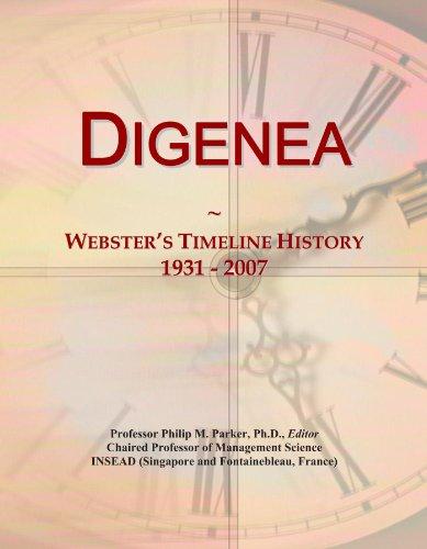 Digenea: Webster's Timeline History, 1931 - 2007