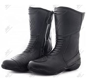 FRANK THOMAS FTLW127 HEIDI LADIES MOTORCYCLE BOOTS WOMENS ...