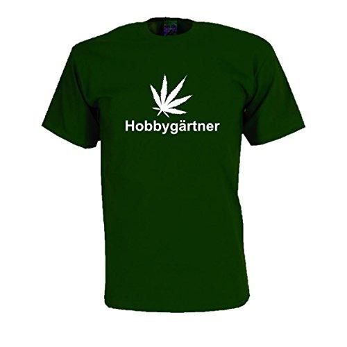 Hobbygärtner Fun T-Shirt mit provokantem Motiv freches Sprüche Shirt witziges Party Spaß Shirt oder Geschenk Funshirt große Größen S-5XL (SDR009) Mehrfarbig