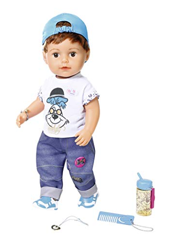 Baby Born 826911 Soft Touch Brother 43 cm, bunt