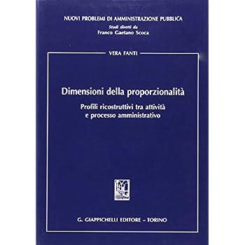 Dimensioni Della Proporzionalità. Profili Ricostruttivi Tra Attività E Processo Amministrativo