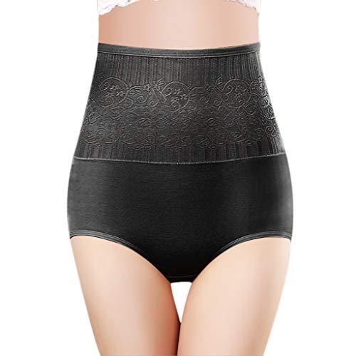 Herian Damen Taillenslip Hohe Taille Baumwolle Panty Seamless Unterwäsche Unterhose Boxershorts Brief Body Shaper
