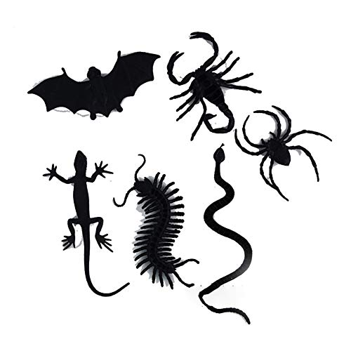 Halloween Party Set Halloween Fledermäuse Scorpion Spider Bat Python Schlange Requisiten 1 Satz für Festival Cosplay Halloween Kostüm