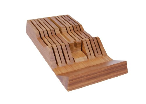 Shun BAMBOOTRAY In Drawer Knife Tray, 11-Slot