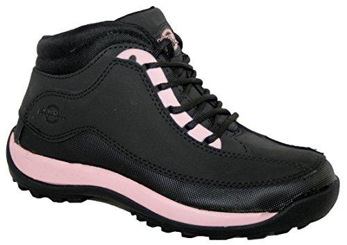 Northwest Territory , Chaussures de sécurité pour femme Noir - noir
