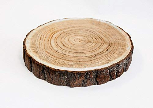 Gran rodaja madera estilo rústico 33a 37cm boda