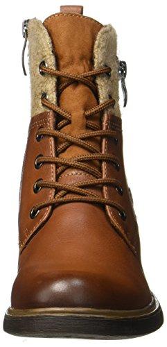 Tamaris Damen 25140 Combat Boots Braun (Cognac)