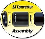 Opteka 2X Manual Telephoto Converter for T-Mount Lenses