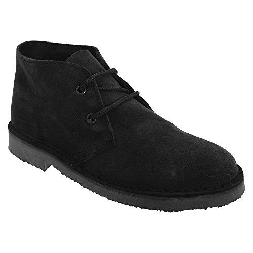 Roamers Damen Desert-Boots / Schnürschuhe / Halbschuhe, Wildleder