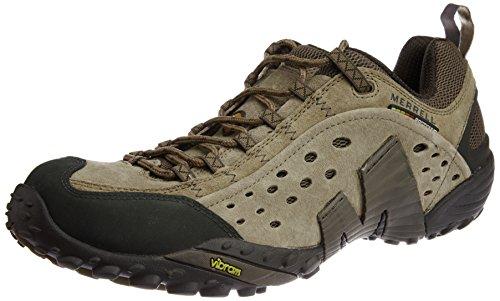 Merrell  Intercept, Chaussures de Randonnée Basses homme Marron (Taupe)
