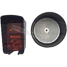 Fotocelula de espejo polarizada de seguridad multitension para puertas de garaje automaticas, parkings, o