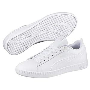 Puma Damen Smash WNS V2 L White Sneaker