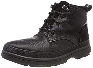 314d327203608 Clarks Men's Rushwaymid GTX Chelsea Boots, Black (Blk Tumbled Lea ...