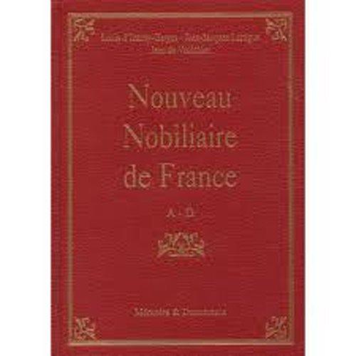Nouveau Nobiliaire de France Tome II E-l