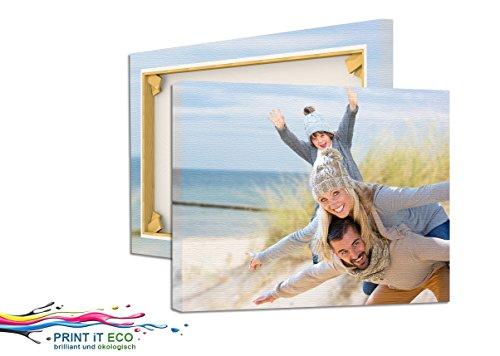 Foto auf Leinwand 60x40 cm mit Wunschmotiv drucken lassen, Fotoleinwand mit Keilrahmen