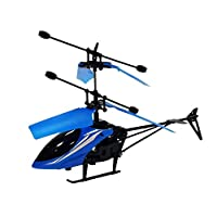 Infrared induction Helicopter - blue