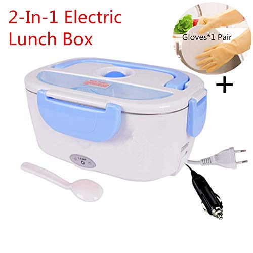 Nifogo Fiambrera Eléctrica Comida Térmico Lunch