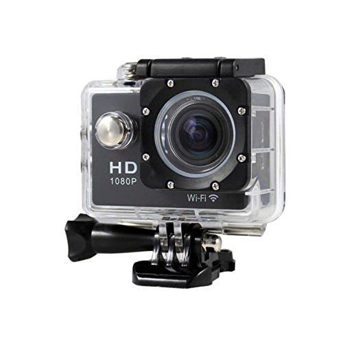 """OverDose Neues SJ7000 2"""" WIFI 1080P HD Tätigkeitskamera Wasserdichter Sport DV Pro Kamera Camcorder (Black)"""