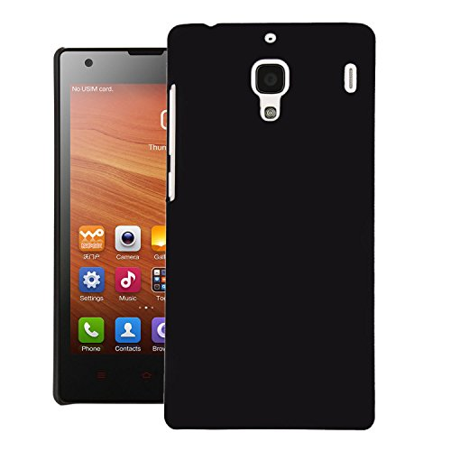 Screenward Thin Superior Coating PC Hard Skin Cover for Xiaomi Mi Redmi 1S - Black