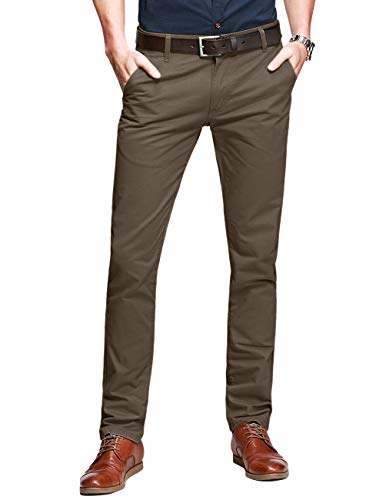 Match Pantalons Casual Slim Tapered pour Homme #8025(8025...