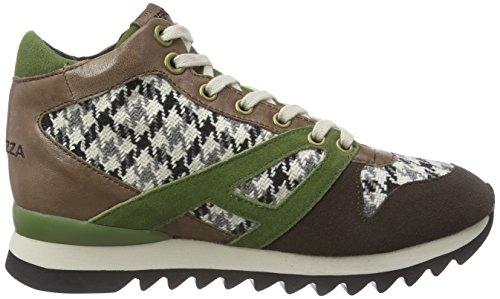 ApepazzaDANIELA - Sneaker donna Marrone (Braun (MARRONE/VERDE))