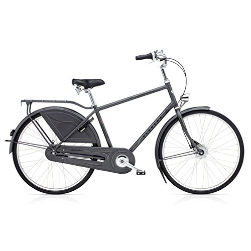 Electra Amsterdam Royal 8i Herren Fahrrad Grau Stadt Holland Rad Retro City Mens, 192048