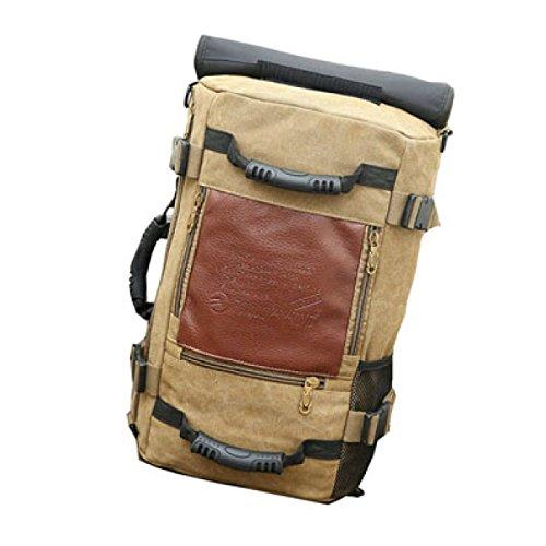 Rucksack Männlichen Koreanischen Leinwand Rucksack Multi-Funktions-große Kapazität Reisetasche Gezeiten Freizeit Outdoor-Bergsport Tasche Sport Männer,C-50*20*30cm