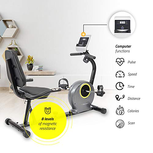 Zoom IMG-2 techfit r300 cyclette orizzontale ideale