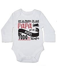 HippoWarehouse Soy La Prueba de Que Papá No Ve Las Motos Todo El Tiempo Body  Manga 69adfcd6a55