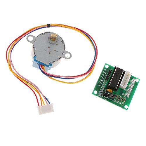 MagiDeal 5V Schrittmotor Treiber Modul Board 5 Linie 4 Phase für ULN2003 Drive (Phase Linie)