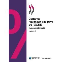 Comptes nationaux des pays de l'Ocde, Volume 2016 Numéro 2 : Tableaux détaillés: Edition 2016