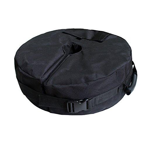 Ardermu Patio Plage ronde Base de parapluie Sac de poids – Base de tente Sac de poids pour auvent Sable support ergonomique Add On Poids pour tous les parapluies de terrasse en plein air ou Munich