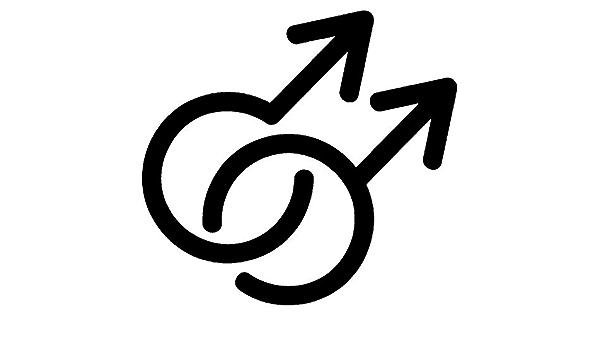 CL00008359 Azeeda Symbole Gay Pochette en Toile
