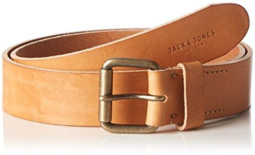 JACK & JONES Herren Gürtel Jjijakob Leather Belt Noos, Braun (Mocha Bisque), 80 cm (Herste Preisvergleich