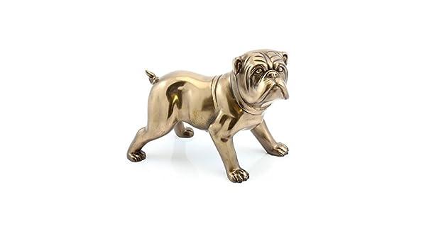 Leonardo Collection Bronzed Bulldog Wood 23x11x13 cm