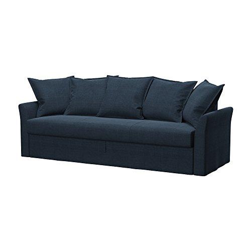 Soferia - IKEA HOLMSUND Funda para sofá Cama de 3 plazas, Elegance...