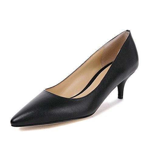 d7ea3ae032 Darco Gianni Womens Kitten Heel Pump Shoes Ladies Nude Patent Court Shoes  Leather Office Work Mid