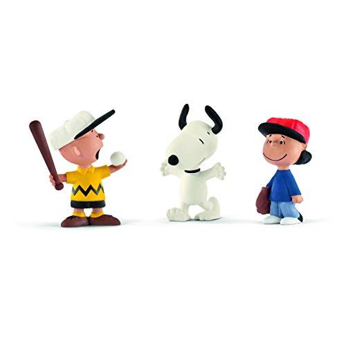 Schleich 22043 - Spielfigur, Scenery Pack Baseball, mehrfarbig
