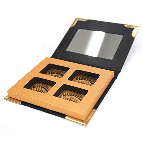 2 Paar/8 Stück Belleza Magnetische-Wimpern-3-Magnete für volle Wimpern...