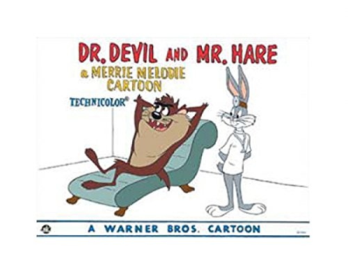 looney-tunes-dr-devil-and-mr-hare-artistica-di-stampa-5017-x-4001-cm