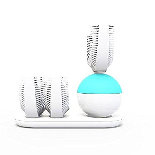 Automatische Elektrische Ultraschall Zahnbürste, Kinut Zahnbürste elektrische Ultraschall Sonic Zahnbürsten wiederaufladbare neue automatische (A03)