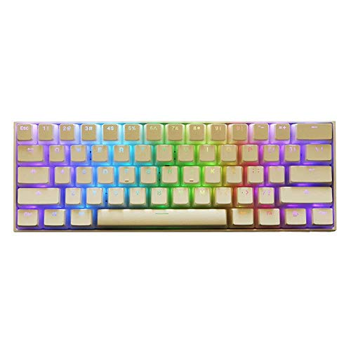 SUCAN 108 Schlüssel Pbt OEM White Pudding Keycap Transluzente Tastenkappen für mechanische Tastatur White Pudding