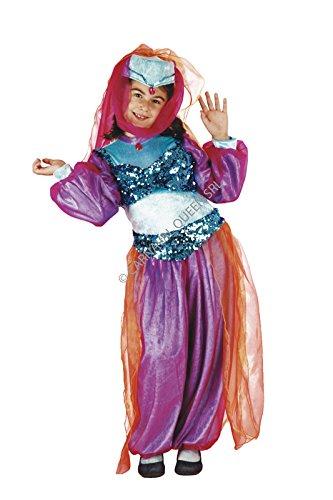 Costume principessa del deserto - odalisca - 9 / 10 anni