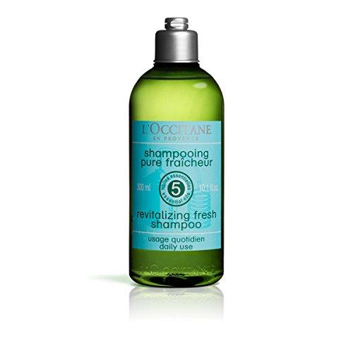 L'OCCITANE - Aromachologie Revitalisierende Frische Shampoo - 300 ml (Provence En Loccitane Shampoo)